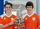 TALENTED: Futsal players Jack Conners (left) and Arlo Hook are preparing to travel to Brazil later this year for the trip of a lifetime.