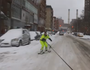 Video: Snowboarder hits the streets of NYC