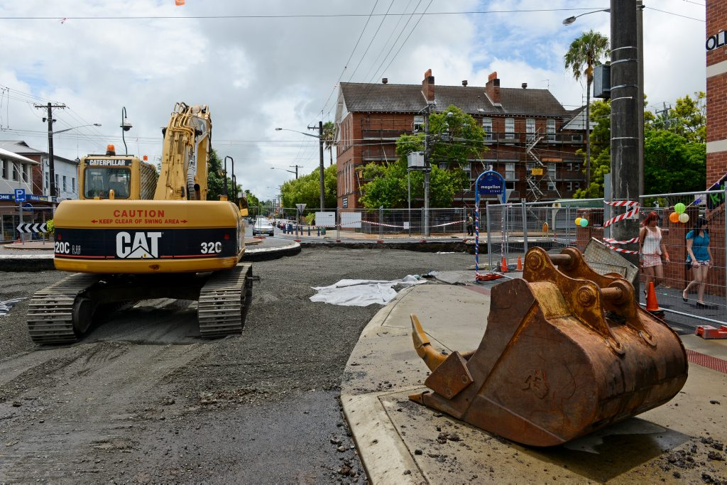 Road works are among the services Lismore council called for tenders on.
