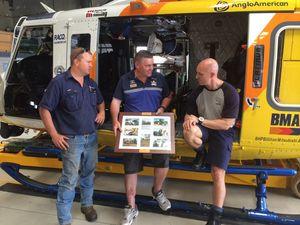 Crash survivor thanks RACQ-CQ Rescue team