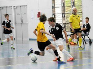 Futsall players give it a perfect 10