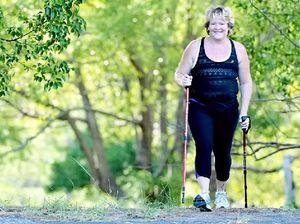 Breast cancer survivor takes on Great Wall trek