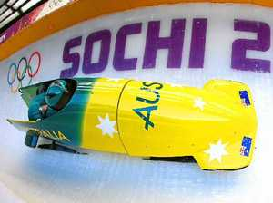 Pittman glad to play second fiddle in sled at Sochi