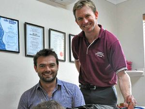 Local lad returns to work at Warwick Physioworks