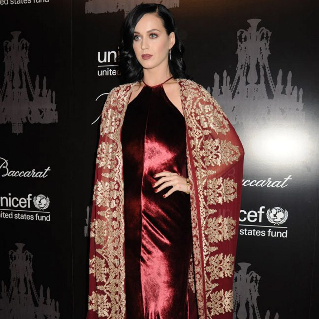 Katy Perry crowned woman of the year.