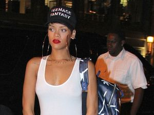 Rihanna taking romance slowly with Real Madrid star
