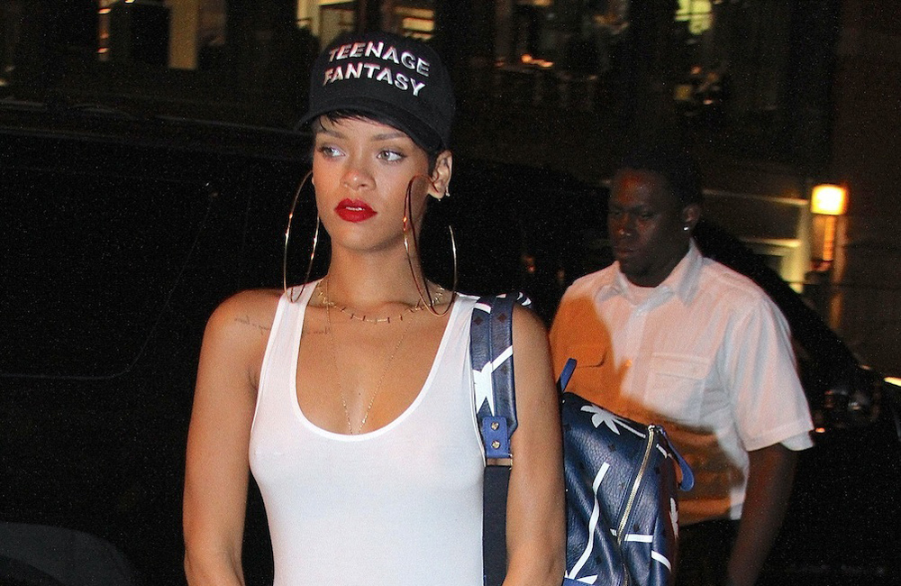 Rihanna paid £6,000 to have her favourite nail expert flown out to her while she holidayed in the Mediterranean.