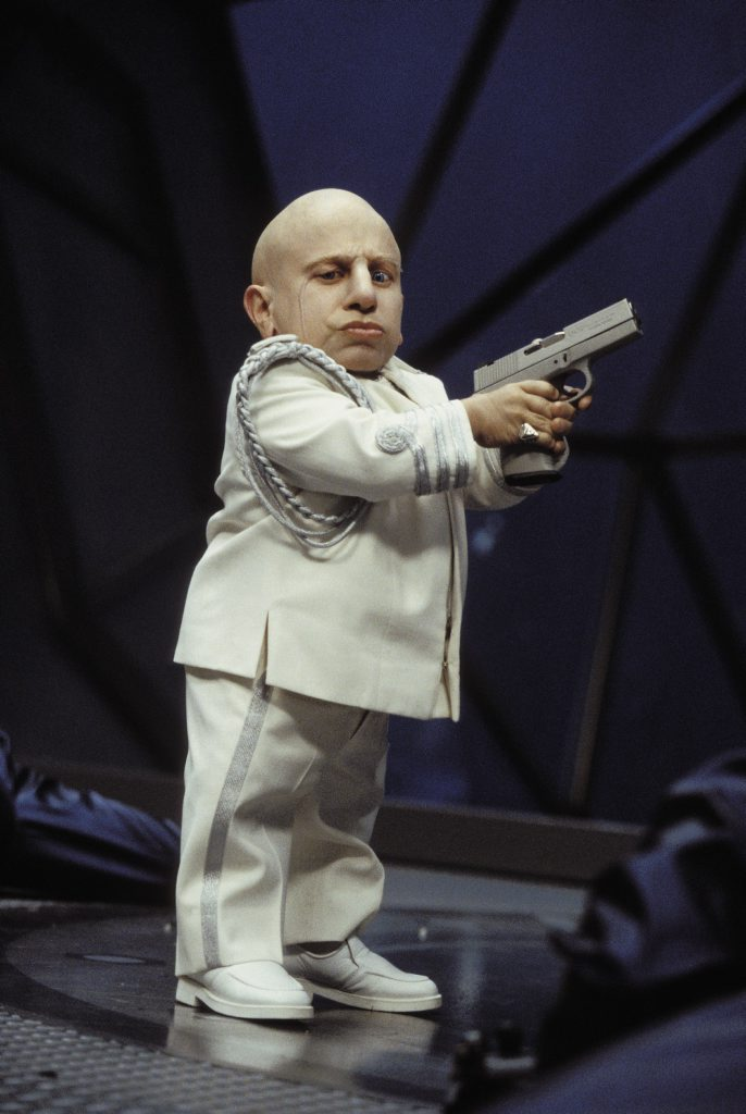 Verne Troyer, as Mini Me in Austin Powers, was one of the stars of Supanova.