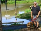 FLOATING IDEA: North Ipswich resident Brian Scott wants to see the Cribb Park pontoon, a victim of the 2013 floods, rebuilt.