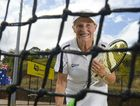 Funding has been allocated for the Joan Nicoll Tennis Centre in Tweed. Picture is Joan on the court in Tweed.