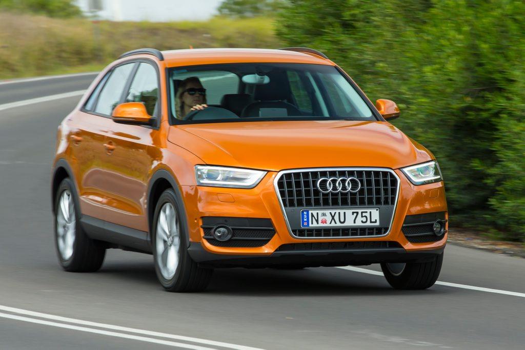 The new Audi Q3.