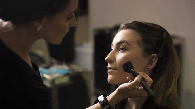 A job as a makeup artist is just one on offer in Toowoomba.