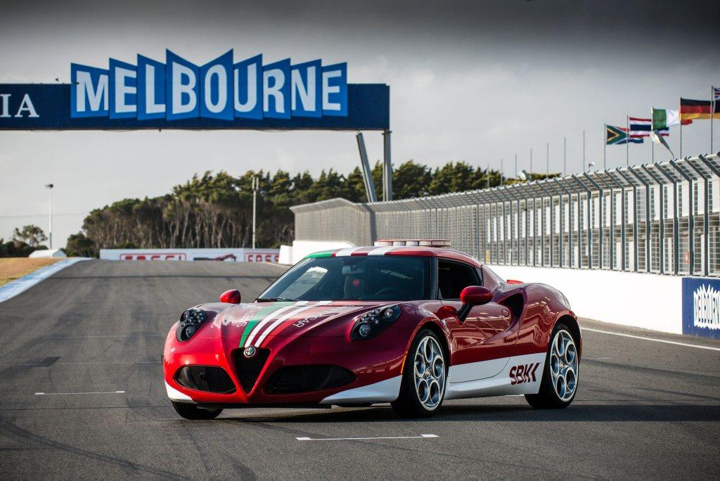 The Alfa Romeo 4C debuts in Australia at Phillip Island.
