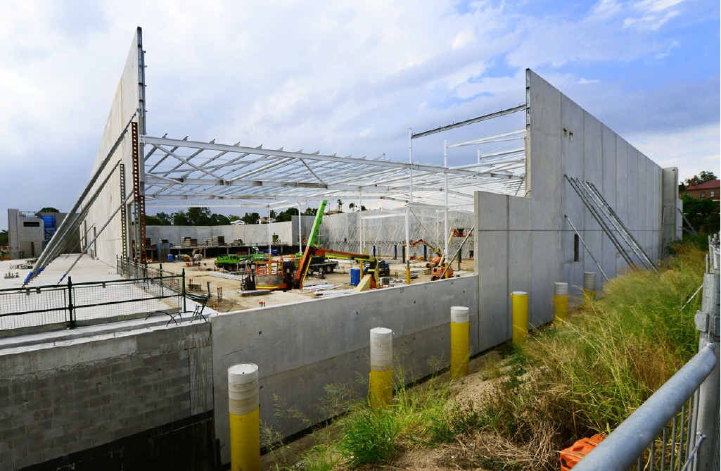 CREATING JOBS: Construction is underway on the new Bunnings hardware in West Ipswich which will create another 190 jobs locally.