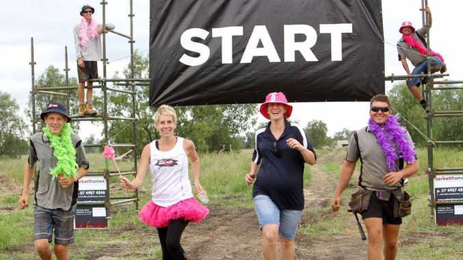 ALL SET: Kirsty Appleton and Laura Clarke are ready and keen to get muddy tomorrow.