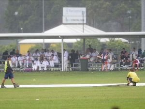 Cricket championships off to a slow start thanks to the rain