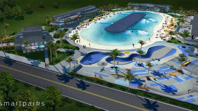 The Sunshine Coast could be the location of Australia's first surfing wave pool.