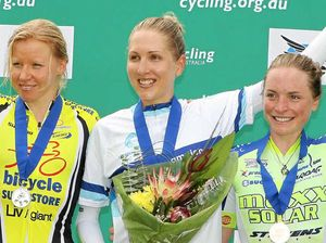 Gillow turns it on for her family in time trial