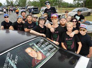 Mates honour Jarrad's love of life in fast lane