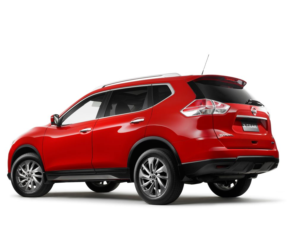 The all-new Nissan X-Trail.
