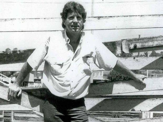 MAN OF THE LAND: The late Geoff Elliott.