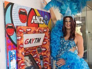 ANZ glams up ATM machines for Sydney Mardi Gras