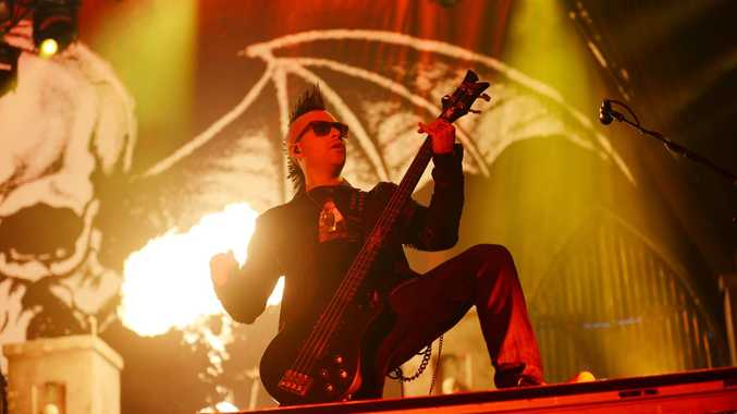 Avenged Sevenfold had the fans going crazy during the headlines slot at Soundwave 2014.