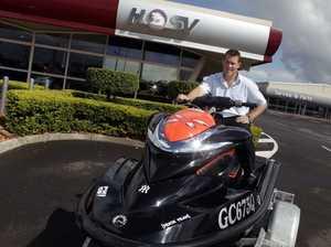 Jet trekker's 600km water ride for kids in need