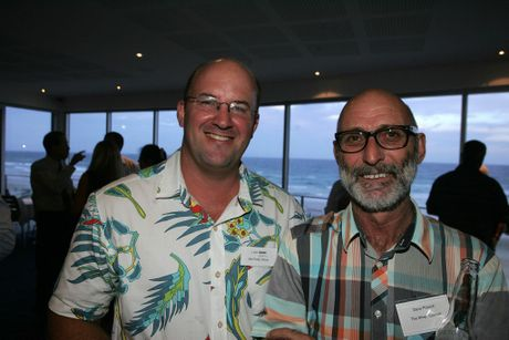 Luke Cameron (left) from Coolum Business and Tourism.