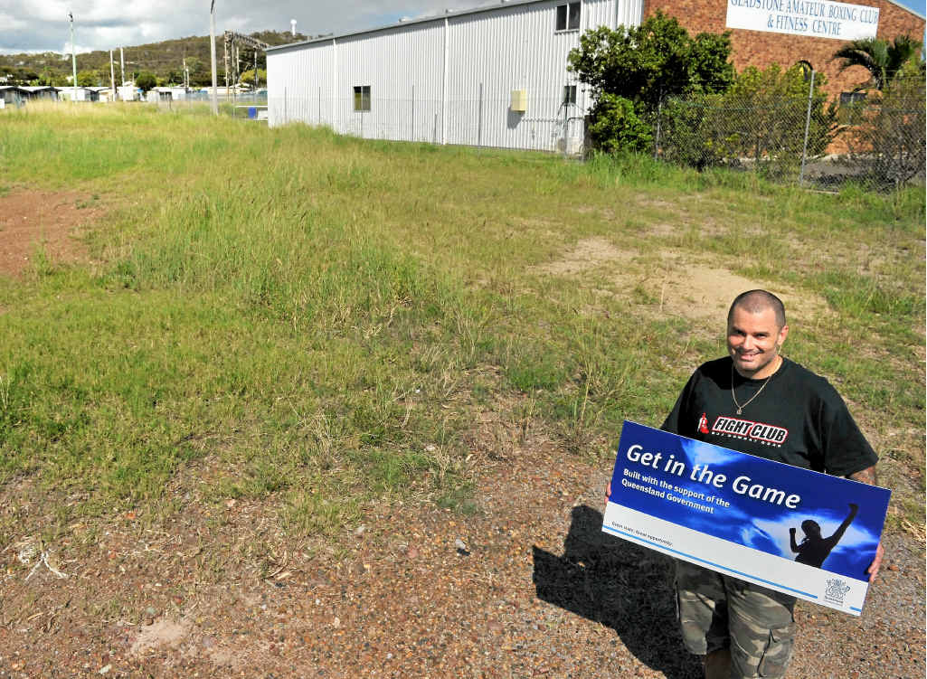 Rob McIntyre could not stop smiling when he received news of funding for Gladstone Martial Arts Academy's future home on Moura Cres, Barney Point.
