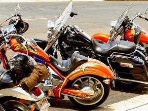 Calliope Police practice motorbike skills