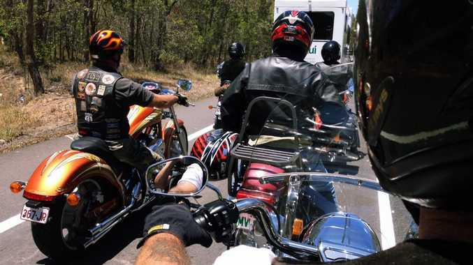 The Independents on a ride. Photo: Robyne Cuerel / Fraser Coast Chronicle