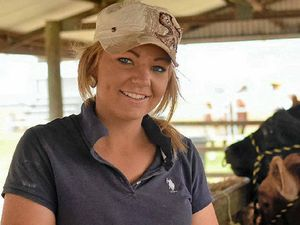 Mikayla sets sights on career in agriculture