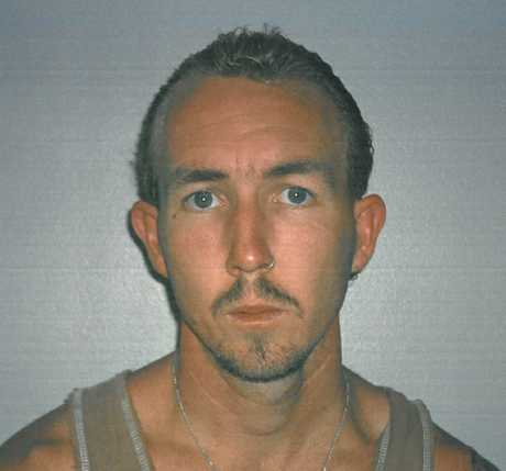 A 2003 police photo of Douglas Brian Jackway, as tendered to the Supreme Court during the trial of Brett Peter Cowan.