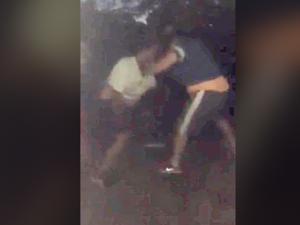 Toowoomba street fights shared on social media