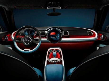 Inside the new Mini Clubman Concept.