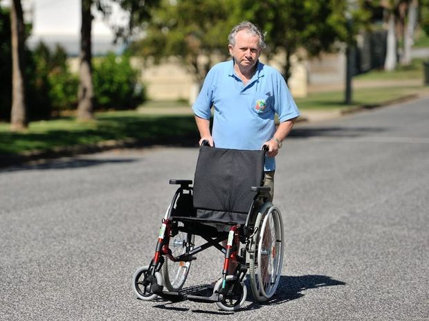 Brian Ross says his daughter had to leave Gladstone because of a lack of affordable housing for the disabled.