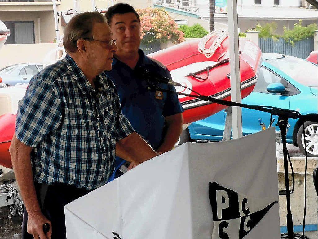LEGACY: Inaugural PCSC and Life Member Jack Mortensen.