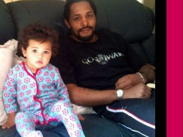 Adrian Casaran-Warrick of Ballina with his daughter Tanilla Deaves-Warrick