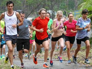 Early start for trekkers in annual running festival