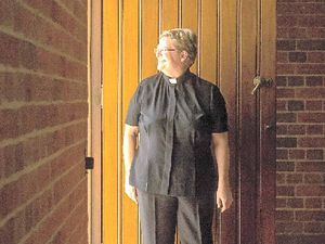 Rev Sarah prepared to step into history