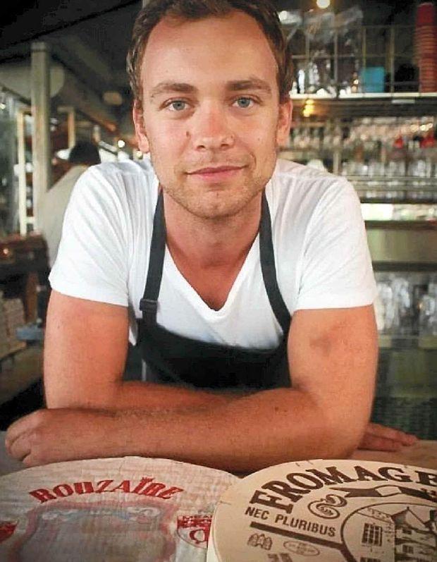 BIG CHEESE: Head cheesemaker of Bangalow Cheese Company, Rhys Burley.