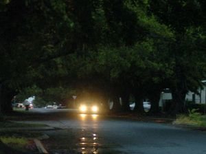 Car light warning can lead to court appearance