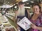 ( from left ) John and Monica Dunnington. Lifeline Bookfest . Photo Nev Madsen / The Chronicle