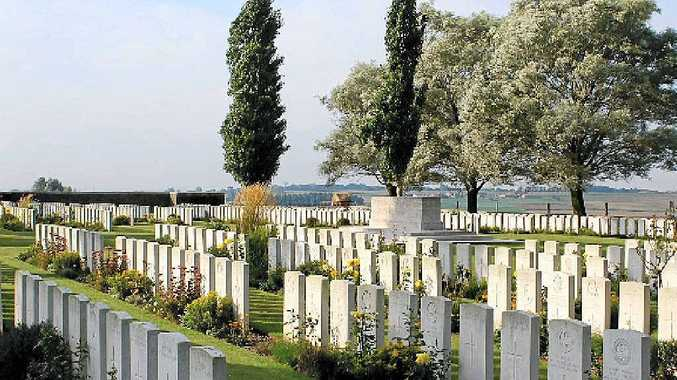 Messines Ridge Cemetery, Flanders.