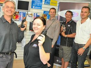 Motorola success in Gladstone brings big chief to town