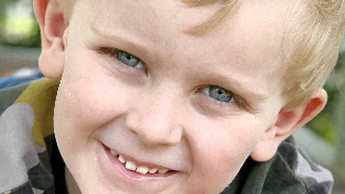 TRAGEDY: Tom Olive, 4, died from rhabdomyolysis in August 2010.