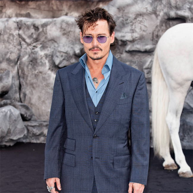 Johnny Depp has declared that he would