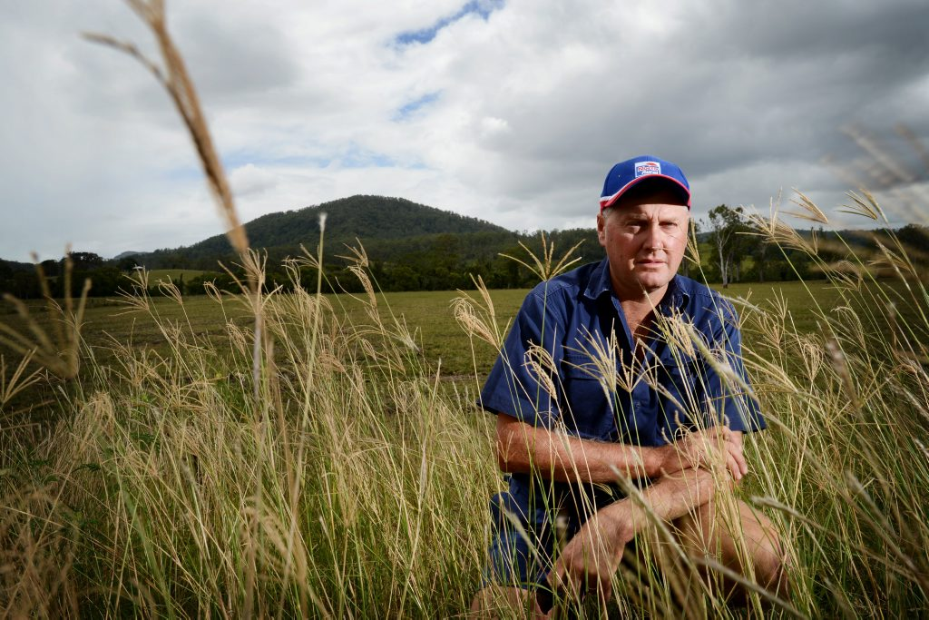 Bentley farmer Peter Graham. photo Patrick Gorbunovs / The Northern Star