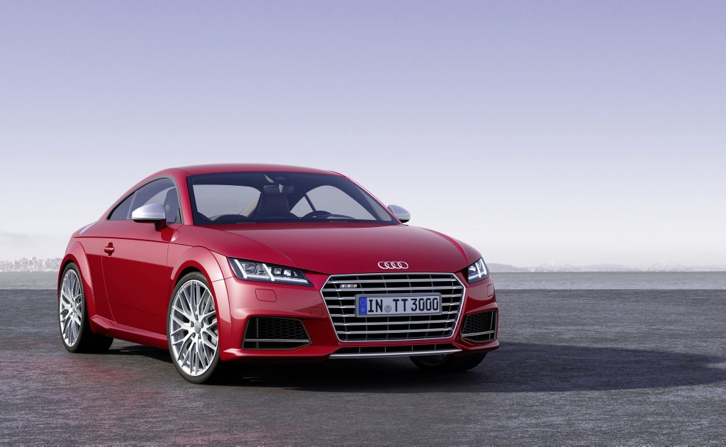 The third generation Audi TT.